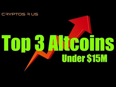 Top 3 Altcoins Under $15 Million – Daily Bitcoin and Cryptocurrency News
