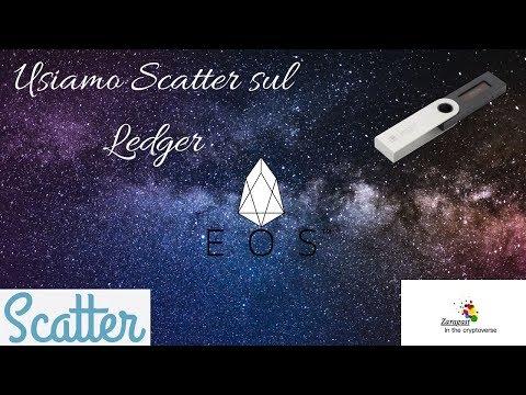 Scatter Desktop | Usiamo il Ledger con EOS