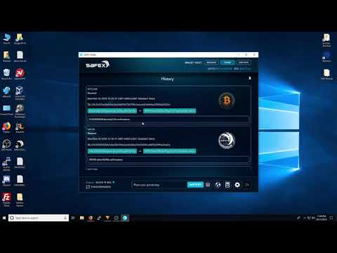 First look at the Safex Wallet v7 with Migration Tools
