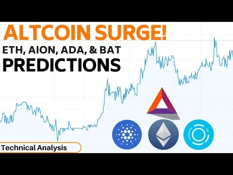 Altcoin Surge – What's Next For Ethereum, Cardano, AION, & BAT?