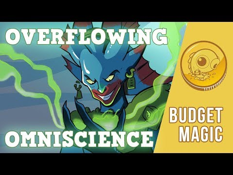 Budget Magic: $85 (25 tix) Overflowing Omniscience (Standard, Magic Online)