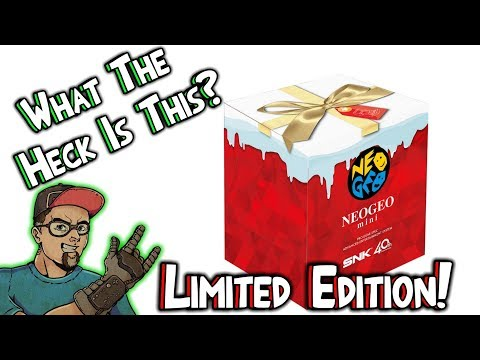 Neo Geo Mini Limited Edition! Holiday Gift For All Gamers!