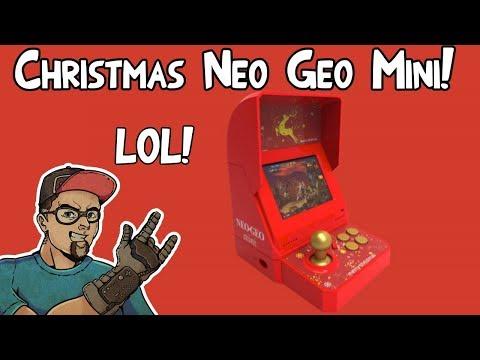 Neo Geo Mini Christmas Limited Edition Bonus Bundle LEAK! 2 Red Pads & More!