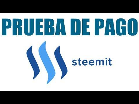 PRIMER RETIRO DE  STEEMIT  NOV 2018