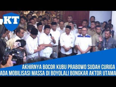 KUBU PRABOWO SUDAH CURIGA ADA MOBILISASI MASSA DI BOYOLALI