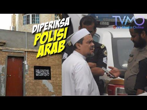 VIRAL! Rizieq DIPERIKSA Polisi Arab Saudi Karena Ada Kain Hitam Bertulis Kalimat Tauhid di Rumahnya