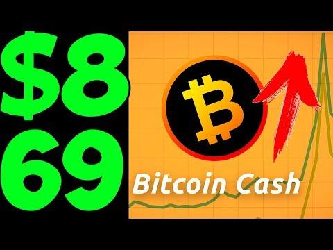 Bitcoin Cash! Скоро 869 долларов?