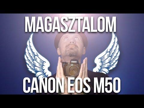Canon EOS M50 vélemény II. (Pozitívumok)