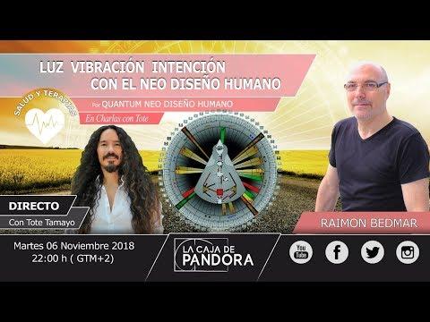 Luz, Vibración e Intención con el Neo Diseño Humano – Raimon Bedmar en CHARLAS CON TOTE