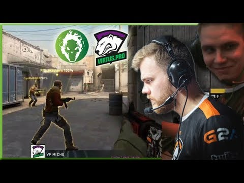 Michu Sneaky A Long Play! Neo Clutch To Save The Day! Virtus.pro Highlights VS Fragsters