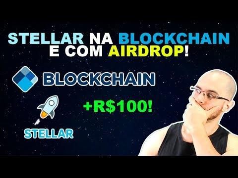 🛑 Stellar (XLM) agora na Blockchain.com e com promoção! Receba R$100 em criptomoedas grátis!