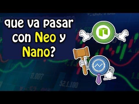 que va a pasar con NEO y NANO? análisis de criptomonedas