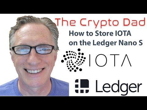 How to Store IOTA on the Ledger Nano S