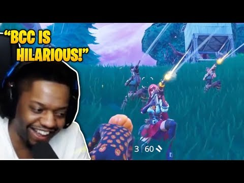KingRichard Reacts To BCC Trolling – *NEW* PHONE EMOTE IS OP! (Fortnite Funny Fails)