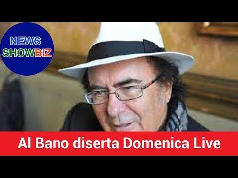 Al Bano diserta Domenica Live: il pubblico sospetta che sia stato 'consigliato' da Romina