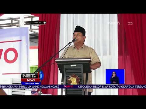 Prabowo Minta Maaf Atas Ucapannya dan Mengaku Tidak Ada Maksud Menghina   NET12