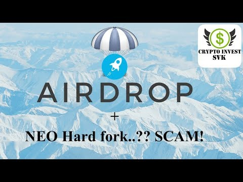 Airdrop xlm a ako ho claimnuť, NEO fork scam…