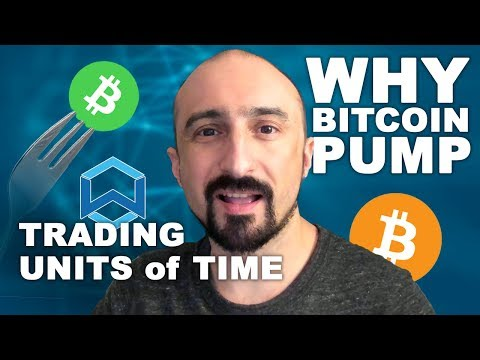 WHY BITCOIN PUMP? | HOW TO TRADE UNITS OF TIME | WANCHAIN | BITCOIN CASH FORK & MARKET ANALYSIS