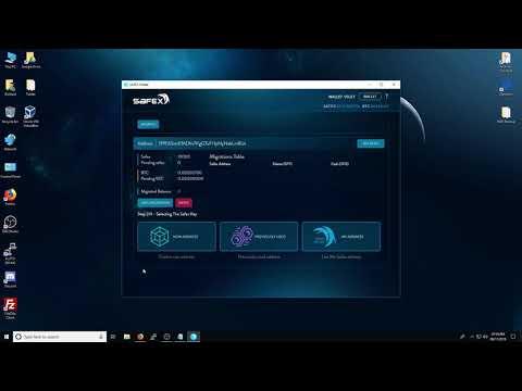 Portfel Safex v7 tutorial/ jak zrobić migrację safex coin i airdrop