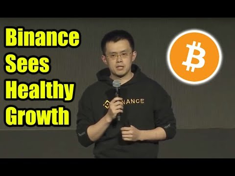 Binance CEO Sees Healthy Growth – Is Crypto and BTC Recovering?