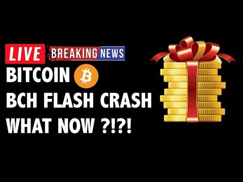 FLASH CRASH on Bitcoin Cash (BCH/BTC)! What Now?! – Crypto Market Analysis & Cryptocurrency News