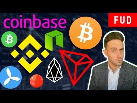 CHINA LIFTS CRYPTO BAN? IS NEO DEAD? TRON DEX? Binance Coinbase Bitcoin Cash TE Food