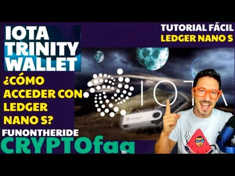 ¡IOTA LEDGER NANO S TRINITY WALLET! TUTORIAL FáCIL /CryptoFAQ – FunOntheRide