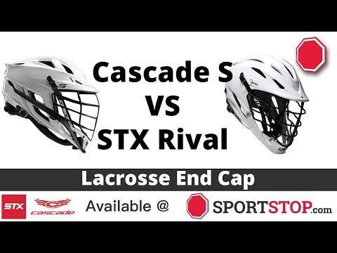 Cascade S VS STX Rival Lacrosse Helmet Comparison Video