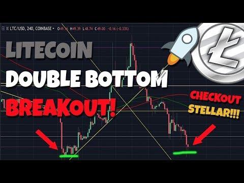 IMPORTANT: Litecoin Double Bottom Breakout! – GREAT INVESTMENT Stellar Lumens!!!!!