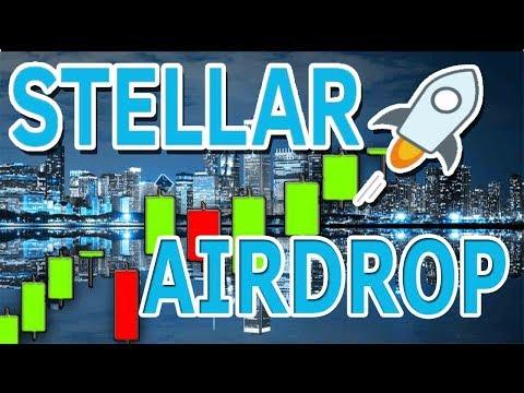 Stellar Lumens (XLM) HUGE Airdrop! When will Bitcoin (BTC) MOON?