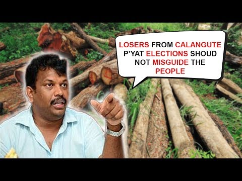 Hill Cutting, Deforestation, Calangute On A Verge of Destruction? Michael Assures To Take Action