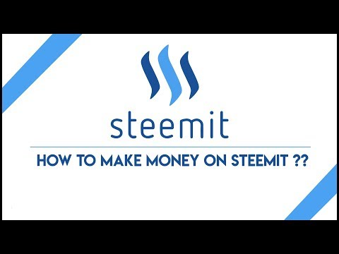 How To Make Money on Steemit?