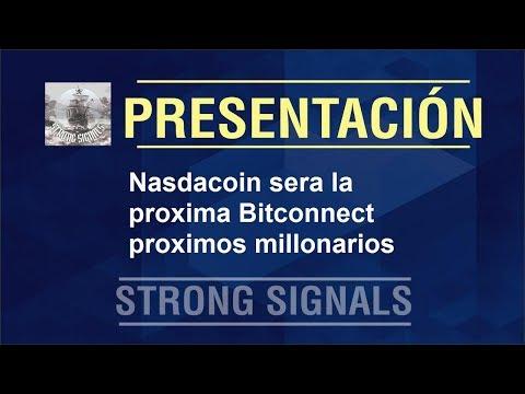 Nasdacoin proxima Bitconnect proximos millonarios
