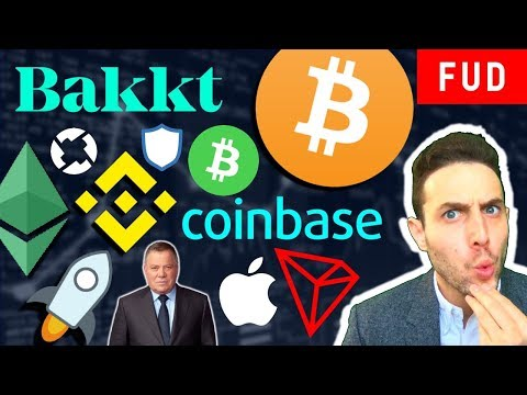 BAKKT TO TRIGGER BULL RUN? BITCOIN CASH WAR? Tron BitTorrent Binance XLM Coinbase Apple