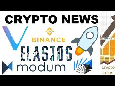Crypto News: Vechain, Stellar, Binance, Modum, Elastos, EtherDelta, SEC (5th – 11th of November)