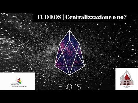 FUD EOS | Centralizzazione o no?