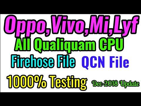 All mobile QCN File||Oppo QCN||ViVo QCN||Xolmi QCN||MI QCN||MI Firehose File||lyf QCN File|Qualiquam