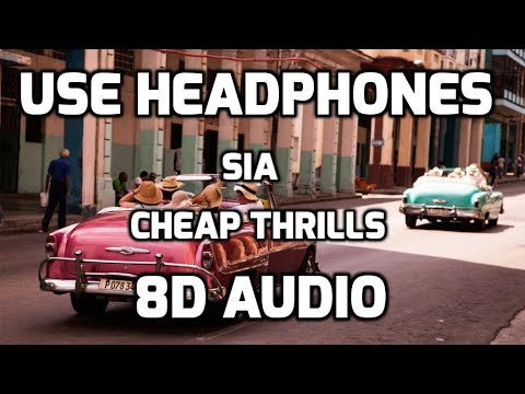 Sia – Cheap Thrills (8D Audio Cover)