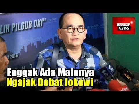 Sindir Kubu Prabowo. Ruhut : Enggak ada malunya ngajak debat jokowi