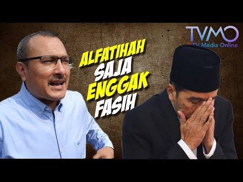 Jokowi Digelari Santri, Ferdinand: Mana Ada Santri ENGGAK Fasih Mengeja Alfatihah?