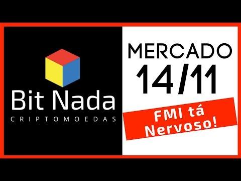 Mercado de Cripto! 14/11 Bitcoin / IOTA / Litecoin / FMI tá nervoso!