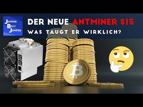 Was taugt der neue Antminer S15 Bitcoin Miner?!