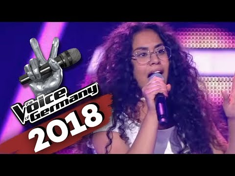 David Guetta & Sia – Flames (Linda Alkhodor) | The Voice of Germany | Blind Audition