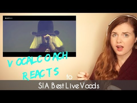 Vocal Coach Reacts to SIA Best Live Vocals Popcrush. Chandelier. Cheap Thrills. Alive. Elastic Heart