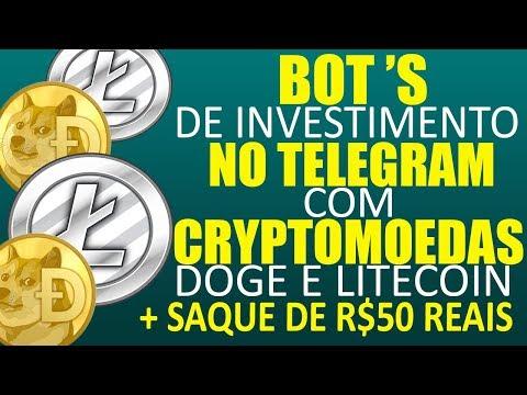 Tem Dogecoin ou Litecoin? Conheça Estes Bots de Investimento e multiplique-os!!