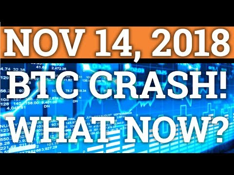 HUGE BITCOIN BTC + CRYPTOCURRENCY CRASH! WHY? HOW LOW WILL IT GO? (DAY TRADING + PRICE + NEWS 2018)