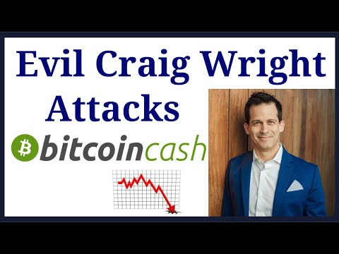 Evil Craig Wright fork attacks Bitcoin Cash (BCH).   Not the real bitcoin (BTC)  What will happen?