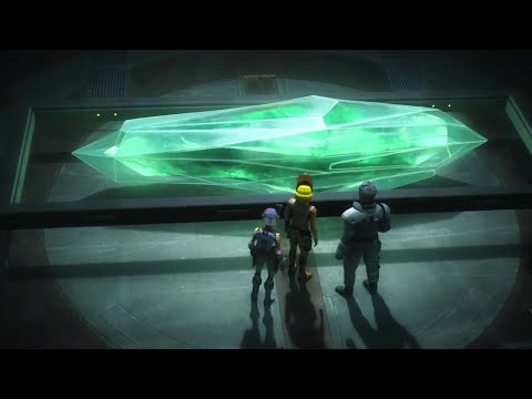 Discovering the Kyber Crystals – Star Wars Rebels: S04E04: In the Name of Rebellion Part 2