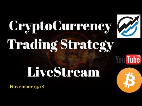 Cryptocurrency Trading Strategy – Live stream – Nov 13/18