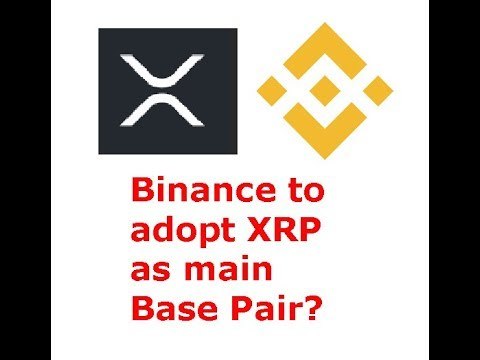 XRP to become main Binance base pair? Makes sense, but will it happen?